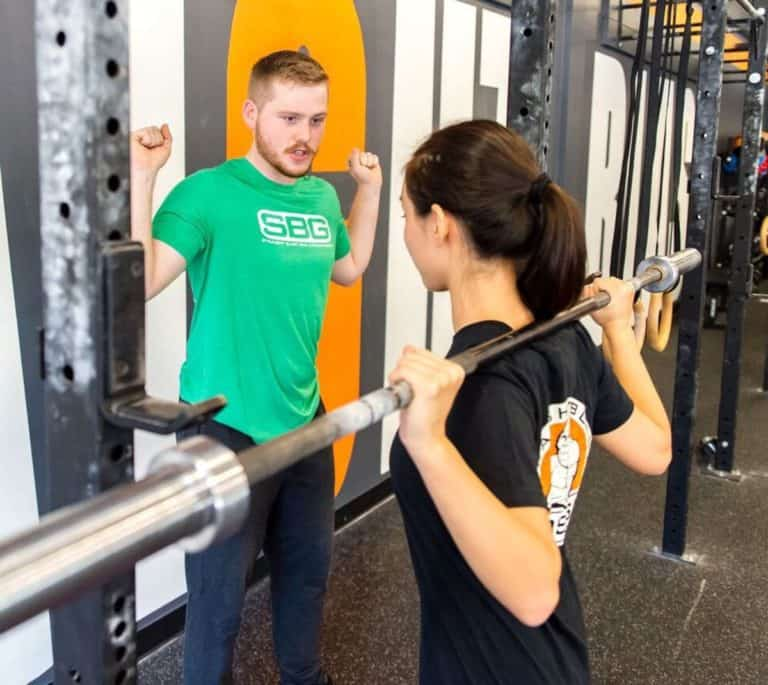 Personal Training at Straight Blast Gym Buford