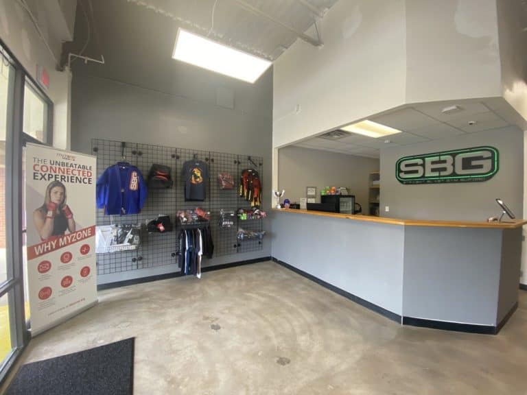 Straight Blast Gym Buford Welcome Area